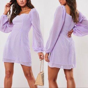 missguided • milkmaid a line mini dress